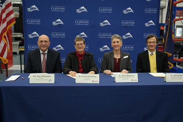 CCC and SUNY Potsdam Sign Memorandum of Conditional Guaranteed Admission